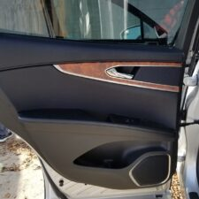 left rear door